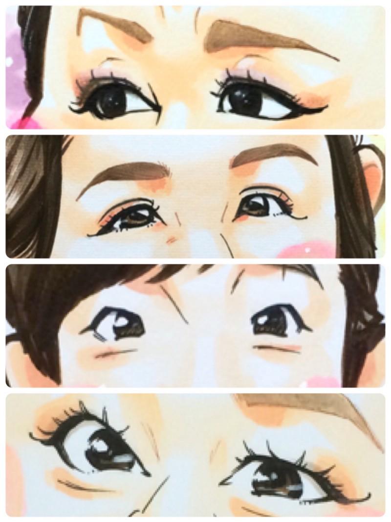 黒目の大きさは生まれた時から変わらない。似顔絵に役立ちそうな「目」についての知識まとめ