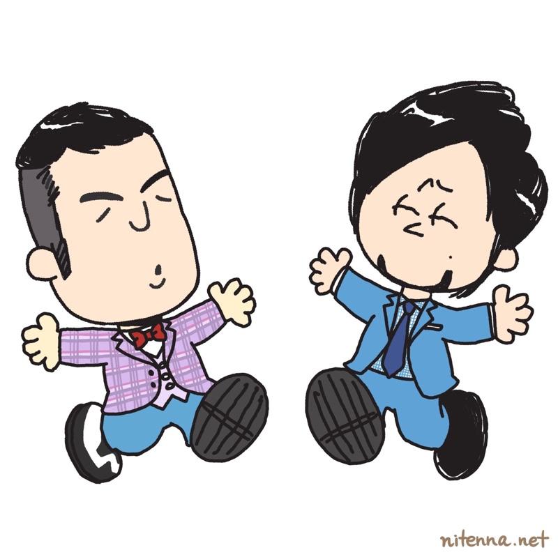 スヌーピー風に描いた和牛の似顔絵(マジェリン作)